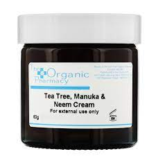 THE ORGANIC PHARMACY TEA TREE MANUKA & NEEM CREAM 60 GR
